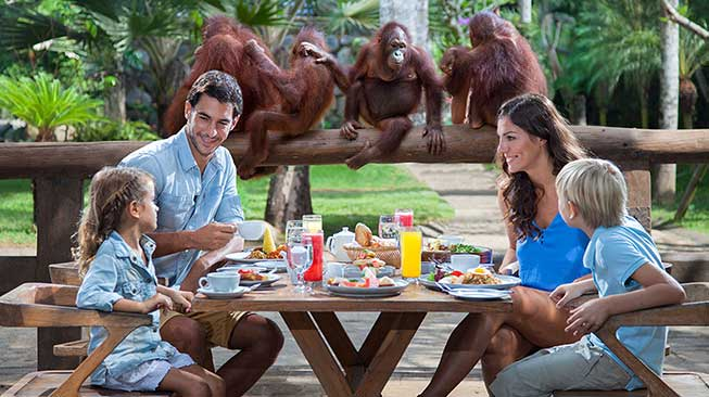 Wana Restaurant Bali Zoo, Gianyar