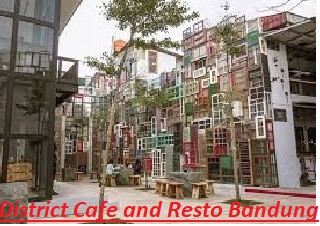 District Cafe and Resto Bandung