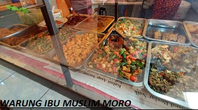 Warung muslim moro seneng Ibu Tien