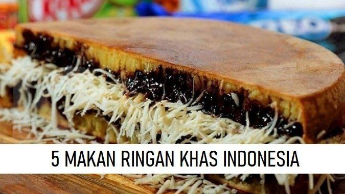 MAKANAN RINGAN KHAS INDONESIA
